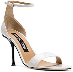 Sergio Rossi Luxury Fashion Donna A83331mviv019000 Bianco Pelle Sandali | Stagione Permanente