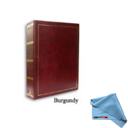 Pioneer LM-100 100 Page Magnetic 3-Ring Photo Album (12-Pack) Burgundy by Pioneer Photo Albums