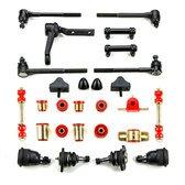 Chevrolet Chevelle Red Polyurethane Front End Suspension Master Rebuild Kit ()