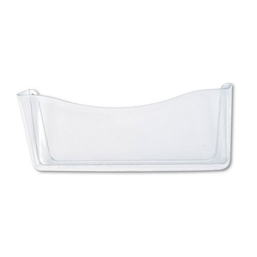 Rubbermaid : Unbreakable Single Pocket Wall File, Legal, Clear -:- Sold as 2 Packs of - 1 - / - Total of 2 Each