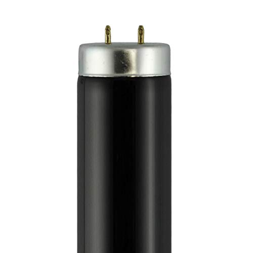 - F40T12-BLB (48 in.) - Watts: 40W, Type: T12 Black Light Fluorescent