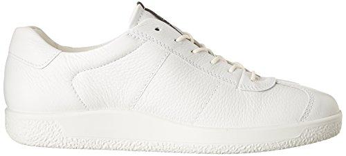 Uomo White 1 Scarpe ECCO Basse Men's Bianco Soft Bright da Ginnastica Baxf0Un1wq