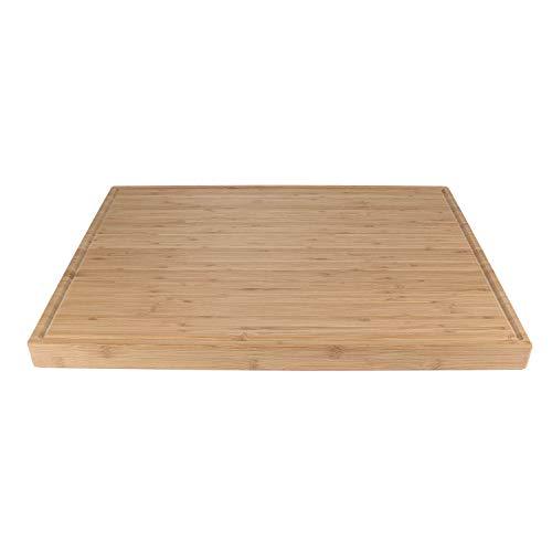 BambooMN Brand - Heavy Duty Premium Bamboo Cutting Board - 24