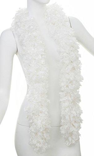 Morris Costumes Boa Featherless White ()