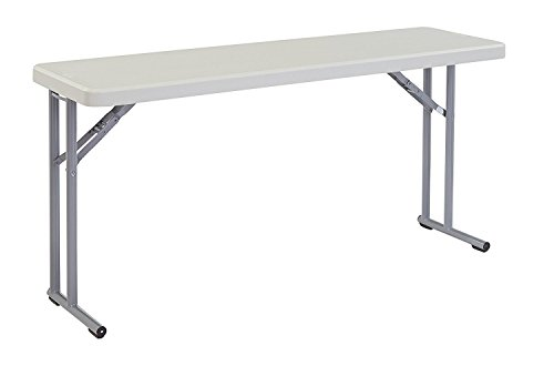 Indoor and Outdoor Study computer Desk Bedroom modern Style Table Plastic folding table by DASII
