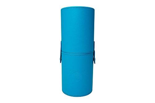 Moonriver Beauty Premium Makeup Brush Case, 9 Inch (Blue)