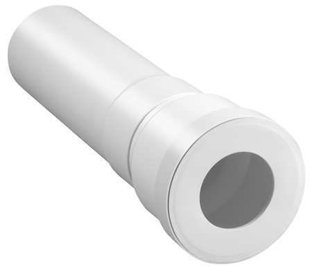 Extension Pipe, 4 In x 16 In, PVC