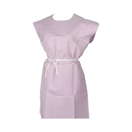 Riserva Mauve Patient Gown, 30'' x 42'', 3ply, Box of 50