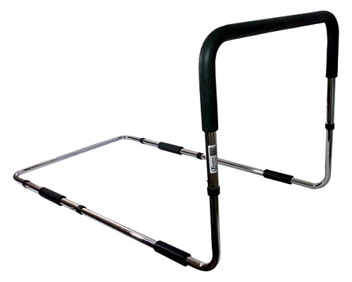 Adjustable Height Portable Bed Safety Rail Grab Bar and Fall Prevention Aid by Enable Medical Supply
