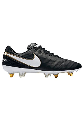 Nike Mens Tiempo Legend VI SG-Pro Soccer Cleat (Sz. 8) Black by NIKE