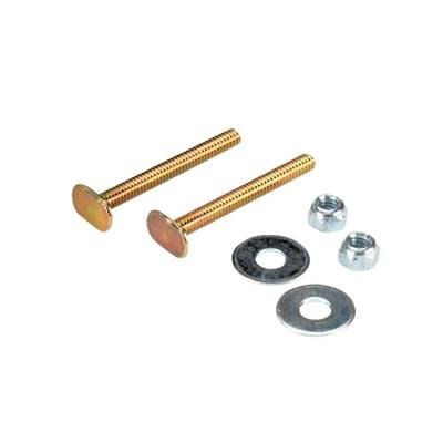 QEP Toilet Bowl Bolt Kit with 1/4 in. x 2-1/4 in. Bolts, Nuts and Washers by QEP
