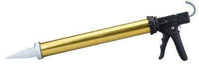 Dripless BL7500 Industrial Grade Aluminum Barrel Bulk Caulking Gun, 30 oz. Cartridge Capacity, 18:1 Thrust Ratio