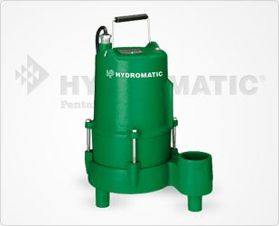Hydromatic SHEF45A1 Cast Iron Effluent Pump, 20' Power Cord ()