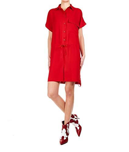 Rojo Poliéster 8pm Mujer Vestido D8pm91t15254 OEAw7qf