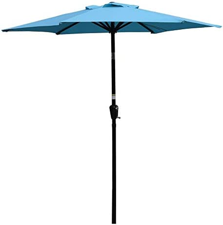 Sundale Outdoor 7.2 ft Patio Umbrella Table Market Umbrella
