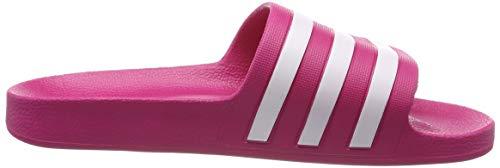 Adulto real Y Zapatos Piscina Adilette Magenta ftwr White Aqua Adidas De Playa Unisex Rosa fZq78qRUw