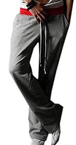 SmarketL Worn Mens Fashion Drawstring Outdoor Casual Sweatpants,Large,Gray, (Tables Brisbane Outdoor)