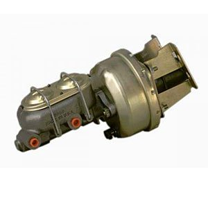 Chevy Chevelle Disc Brake - Stainless Steel Brakes A28142 7 in. Dual Diaphragm Booster/Master Cylinder