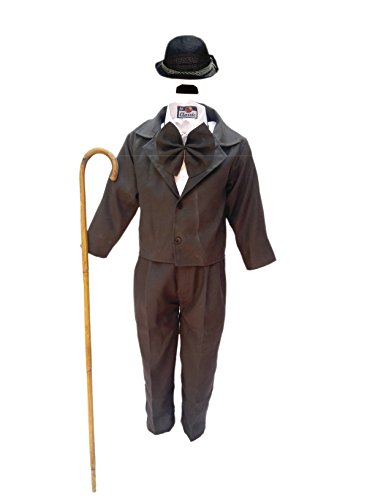 Charlie Chaplin fancy dress,Comic Character Costume for Annual