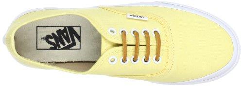 Vans Autentiche Scarpe Vn-0qev7gt (spazzolato Twill) Slim Giallo Taglia Uomo 8.5 / Donna 10