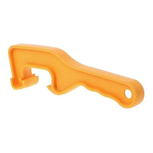 (Ranoff Bottle Opener ABS Plastic Bucket Pail Paint Barrel Lid Can Opener Opening Home Hand Tools (Orange))