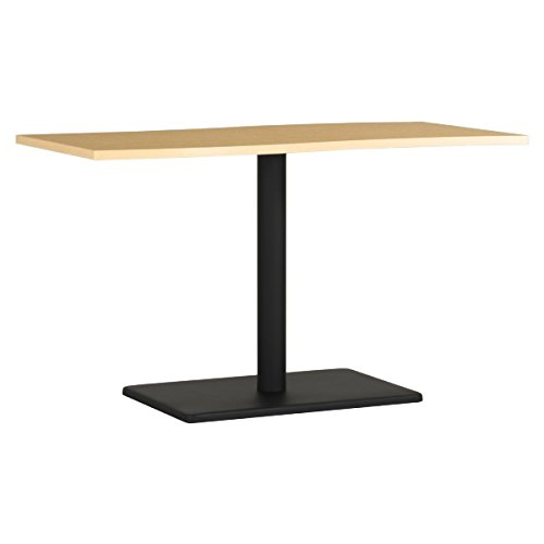 arne ダイニングテーブル 机 幅120 奥行き60 高さ70 日本製 デスク 食卓テーブル デザインテーブル River12060D NT×BK B0785QX29Q 高さ:70cm/天板サイズ:120×60|NT×BK NT×BK 高さ:70cm/天板サイズ:120×60
