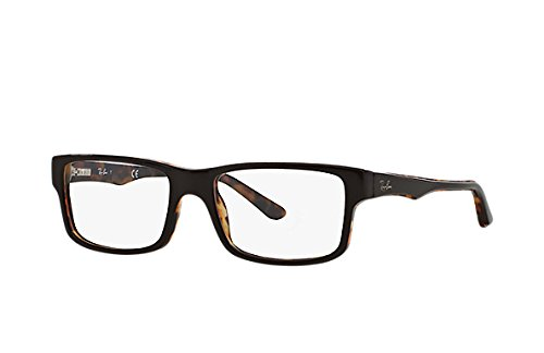 47d8ca55523 Ray Ban RX5245 Eyeglasses-5220 Top Brown On Havana-54mm  Amazon.ca  Shoes    Handbags