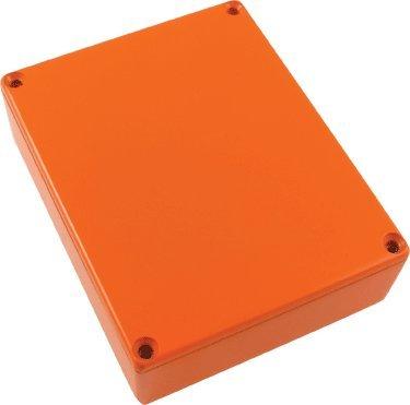 Hammond Replacement 1590BB Die-cast Aluminum Box, Orange ()