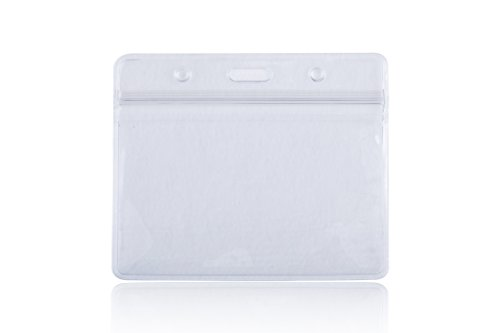 Rocclo Waterproof Type PVC ID Card Holder, Clear