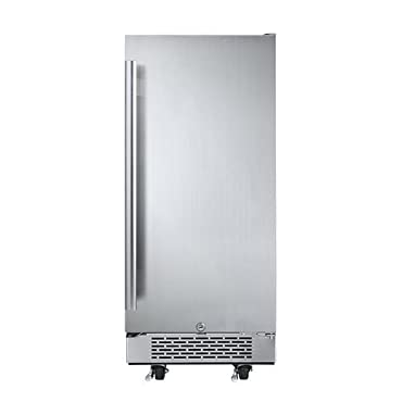 Avallon 3.3 Cu Ft 15 Outdoor Built-In Refrigerator Right Hinge
