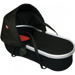 Phil and Ted's Peanut Vibe Baby Sleeper in Black and Red