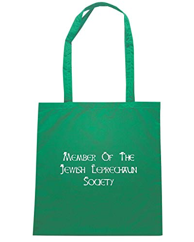 Borsa Shopper Verde TIR0122 JEWISH LEPRECHAUN SOCIETY