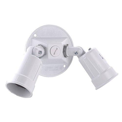 Hubbell Raco 5625-6 Hubbell 5625 Weatherproof Combination Lamp Holder, 75-150 W, Par 38, Die Cast Zinc, - Weatherproof Boxes Raco