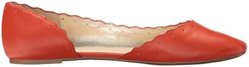 Nine West Mai Orange Ballet Flat Leather Women's F6rqxCwFS