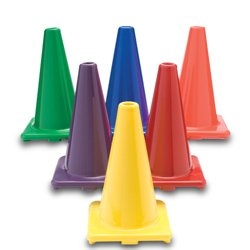 Color My Class Game Cones - Set of 6