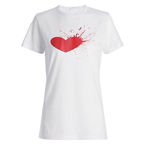 Herz Rot Liebe Neuheit Lustig Damen T-shirt a813f