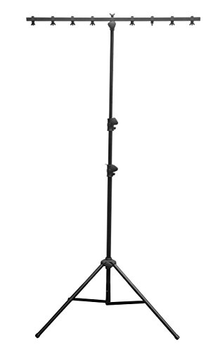 Light Lighting System Fixtures - CHAUVET DJ CH06 Lightweight Lighting Stand w/T-Bar (50lb Capacity)