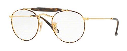 Ray-Ban RX3747V Eyeglasses Gold Top Havana - Brands 50 Top Designer