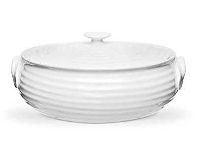 Portmeirion Sophie Conran White Oval Casserole, Small