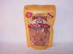 (Smokehouse Pet Products 25051 4 Oz Small Chicken Chips Dog Treats)