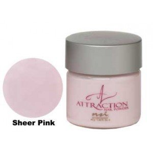 NSI Attraction Acrylic Nail Powder Eye Shadow?-?Sheer Pink by NSI