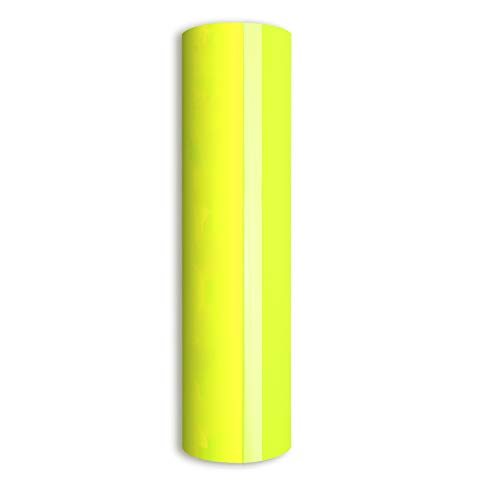 (Neon Yellow Heat Transfer Vinyl,PU HTV Heat Transfer Iron on Vinyl Heat Transfer Vinyl Roll for DIY T-Shirts 、Idea Fabrics 0.8x5ft(Neon Yellow))