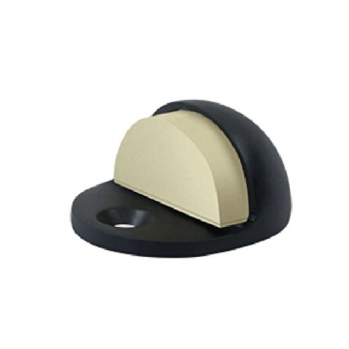 Deltana DSLP316U19 Low Profile 3/16 Base Height Solid Brass Dome Stop ()