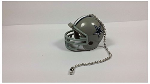 Cowboys Fan (NEW NFL Ceiling Fan Helmet Pull Chain Lamp Pull Chain (DALLAS COWBOYS))