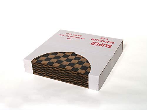 Handy Wacks Black On Natural Checkerboard Flat Deli Tissue Paper, Dimensions: 12 1/2 x12 1/2 x12 1/2 inch, 1000 per pack - 6 packs per case. ()