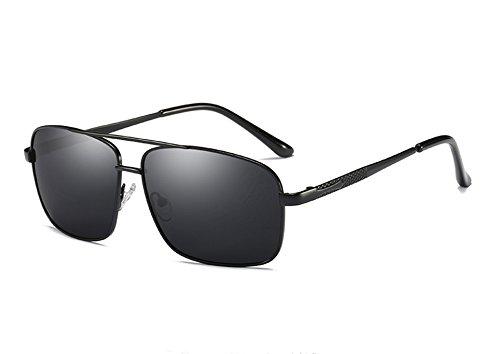 Mujeres Sunglasses TL para Hombre Sol Espejo Gafas Gafas de Accesorios Gafas gray Gris Gris Gafas de Cuadrado polarizadas Sol Hombres black Unisex de UdrqxaFwd