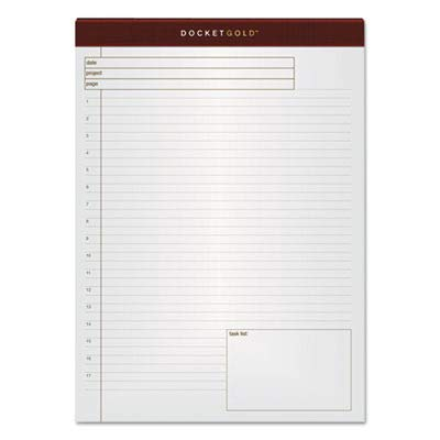 (TOP77100 - Tops Docket Gold Planning Pad)
