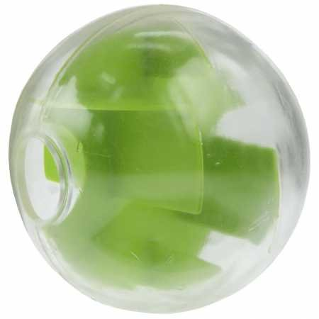 Planet Dog Orbee - Tuff Mazee Ball - Interactive Tough and Durable Treat Dispensing Puzzle Toy, Green ()
