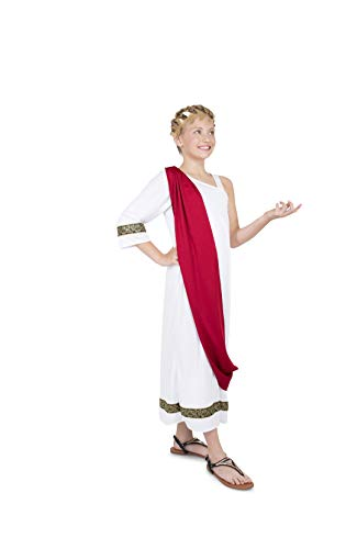 Girl's Roman Empress Costume, for Halloween Party Accessory, Medium