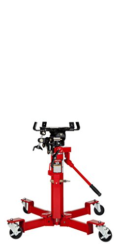 Sunex 7796 1000-Pound Air and Hydraulic Telescopic Transmission Jack 2 Stage Telescoping Air